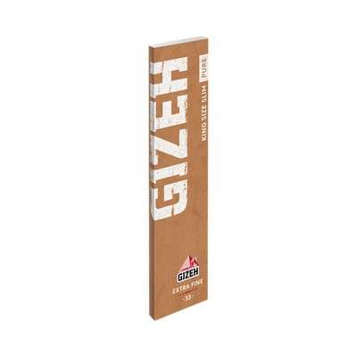 Rolling Papers + Filters - Gizeh King Size Slim Pure