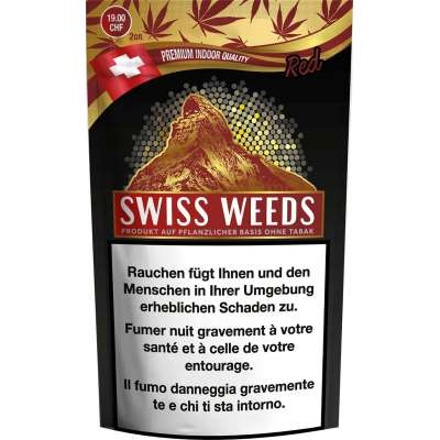 Swiss Weeds Red - Pure production - Cannabis CBD